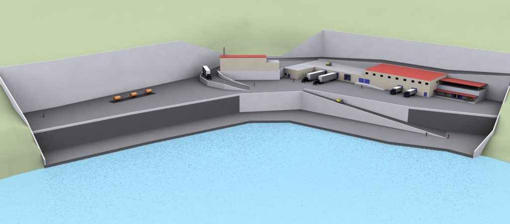 Aquaculture Units Supporting Infrastructures
