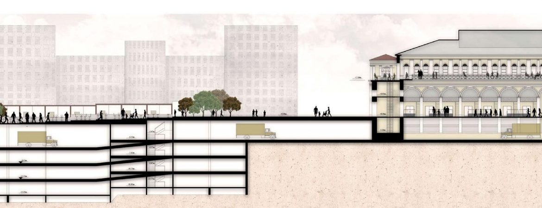 Conceptual Design of the New Varvakeios Market