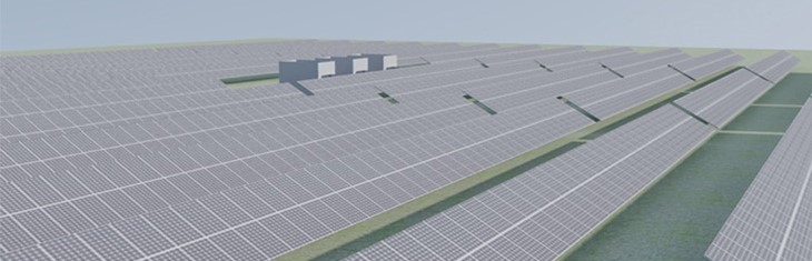 Installation of a 1.970Μw Photovoltaic Power Station