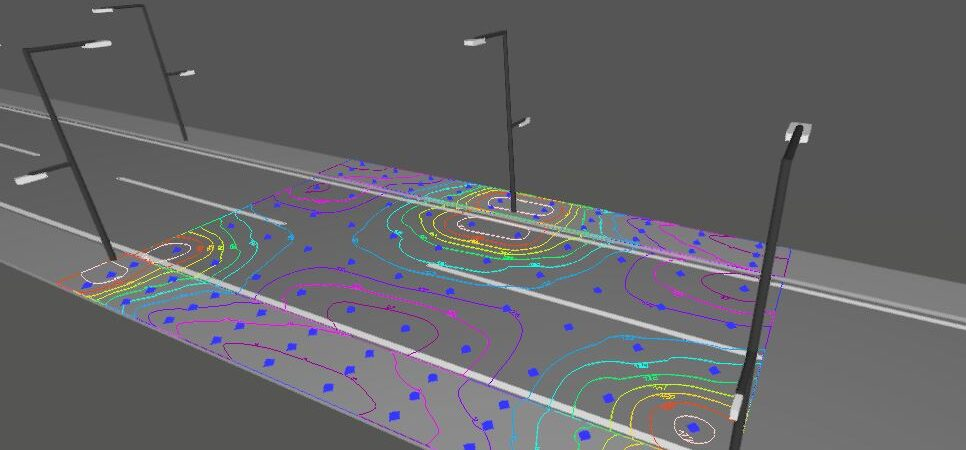 Lighting and energy saving study for the upgrade of the public street lighting in the Municipality of Platanias.
